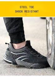 2021 أحذية السلامة مع المشي على نمط الموضة الصلب Toe CE