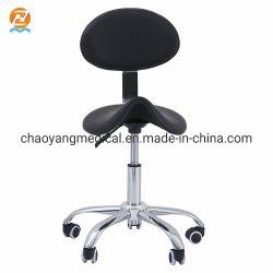 Cómoda silla ergonómica de médicos de heces para silla de laboratorio médico dental