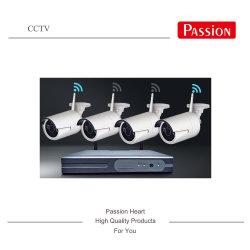 4CH無線CCTVのカメラP2p NVRキット