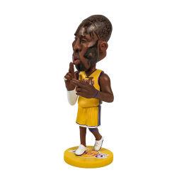 Adornos Artesanales de resina de Estrella de la NBA creativo recuerdos simulación figura estatua