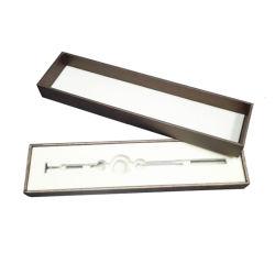 Kundenspezifischer Pappüberzogenes Papier-Beleg-Fach-Speicher-u. Bildschirmanzeige-Geschenk-Kasten für Juwel-Halskette