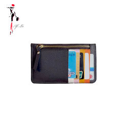 カスタマイズされた小型サイズのジッパーPUの革硬貨の財布
