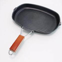 非炭素鋼の棒の折るグリル鍋のフライパンの調理器具