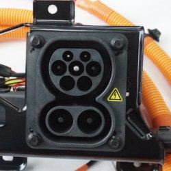 قابس كهرباء تيار متردد/تيار مستمر مدمج AC/DC ذو جودة عالية مقبس شحن السيارة الكهربائية