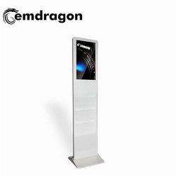 OEM 광고 플레이어 광고 디스플레이 브로셔 홀더 27인치 최고의 제조업체 LCD 디지털 사이니지 실외 푸드 키오스크 디자인 마케팅 광고