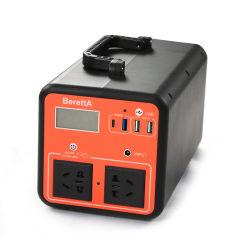 완중 실외 비상 이동식 전원 뱅크 스테이션 전원 팩 AC DC 출력 포트 및 LED 플래시 표시등