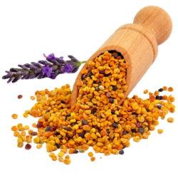 Mezcla de polen de abeja natural chino