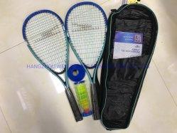 Speedminton définie avec la vitesse préréglée de raquette de squash Fastball Crossminton Raquette Badminton