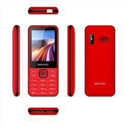Telefoon van de Eigenschap van de Telefoon van 2.8 Duim de Goedkope Fundamentele Mobiele zeer Slanke Ruwe de intrinsiek Veilige Telefoon van China Mobile