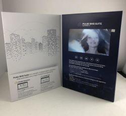 Progettare il libro per il cliente del video dello schermo dell'affissione a cristalli liquidi