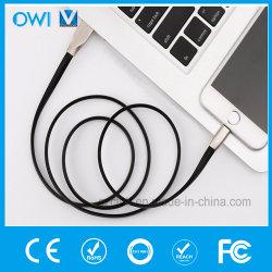 Квартира данным по Charger&Transfer сплава цинка ромбическая для кабеля iPhone-USB