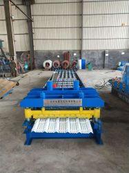 De Enige Tegel die van het Profiel van het staal Vormt Machine/het Enige Blad die van de Tegels van de Laag Lijn maken Rolling