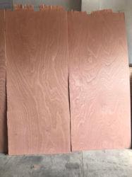 1.22x2.44m Sapele contreplaqué décoratif de placage en bois naturel Rotary-Cut/ Sapelli des panneaux de contreplaqué