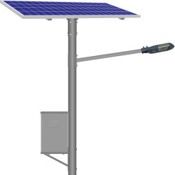 تعمل وحدة التحكم في اللوحة الشمسية المنفصلة على إضاءة مصابيح LED بقدرة 110 فولت تلقائيًا