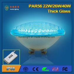 لمبة LED بسُمك الزجاج بسُمك 40 واط تعمل بتقنية IP68 ومقاومة للماء بقوة PAR56