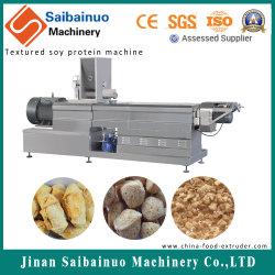Lijn die van het Proces van de Proteïne van de Soja van de dubbel-schroef de Geweven Vegetarische Machine maken