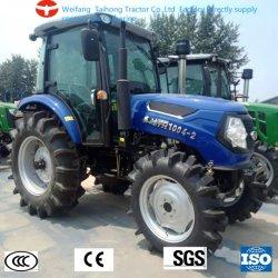 China hizo 80Cv 4WD Jardín caminando Tractores Agrícolas Agricultura Diesel