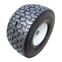 平らで自由なタイヤの車輪、トレーラー、手トラック、手押し車、PUの泡の車輪、PU1604のための固体車輪