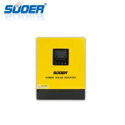 Suoer 24V 230V 3kVA Gleichstrom zu Wechselstrom weg vom Rasterfeld-Sonnenenergie-Inverter