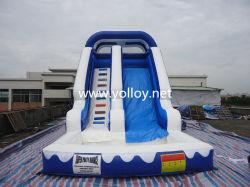 Slide de salto inflável, jogo de esportes infláveis comerciais