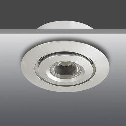 12V 1W 3W раунда мини-алюминиевые светодиодные светильники акцентного освещения затенения