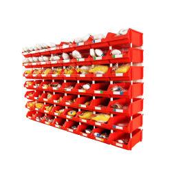 Anaquel del compartimento de plástico cajas para piezas pequeñas bandejas