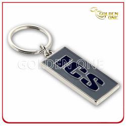 Promoção Gravar Esmalte Logotipo Debossed suave da etiqueta da chave de Metal