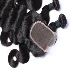Китайский Завод 9человеческого волоса связки Weft волос с передней крышки блока цилиндров