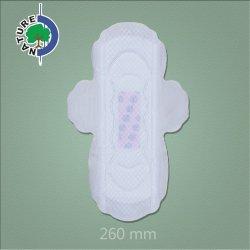 katoenen van 260mm de In het groot Biologisch afbreekbare Sanitaire Fabriek van Stootkussens