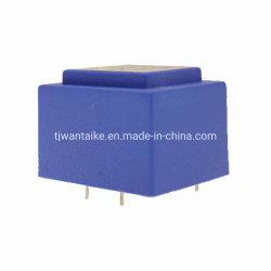 La IE30 de baja frecuencia de la serie/encapsulados resina epoxi de aislamiento de seguridad //Lamina transformador electrónico de alimentación