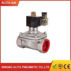 수영장 수중 가능 2s400-40 스테인리스 스틸 미니 24V DC 12V 220V 워터 솔레노이드 밸브 방수