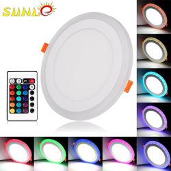 12 watt RGB-LED-oppervlaktelicht met een laag vermogen Grootte