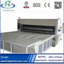 Воды чернила гибкой печатной машины для временных интервалов гофрированной упаковки коробки