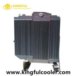 Radiatore di alluminio di raffreddamento della costruzione del motore industriale della macchina, radiatore dell'olio