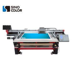Rullo UV ibrido multifunzionale per rotolare stampante a base piatta Huv-1600 su qualsiasi stampa di superficie