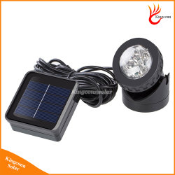 6つのLEDsの太陽庭の点ライト屋外の芝生の景色のプールの池のヤードによって動力を与えられるスポットライトIP68は太陽ランプを防水する