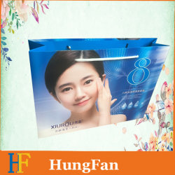 Transporteur colorés de Shopping personnalisé de promotion de l'Emballage Sac de papier cadeau