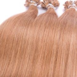 100% Remy Cheveux humains Nail U Astuce hair extension 14pouces