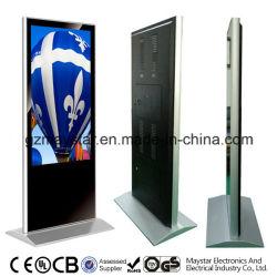 무료 스탠드형 맞춤형 디자인 55인치 WiFi 실내 광고 미디어 플레이어