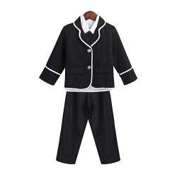 Высокое качество зимы главная детей школьная форма куртки брюки