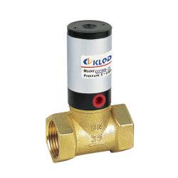 Válvula de controle de válvulas de pistão Peumatic por meio de gás líquido neutro