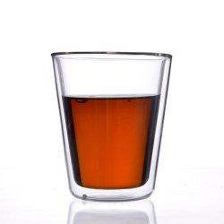 [أب6995-ا] [هت ينسولأيشن] نوع [هندمد] [280مل] مزدوجة جدار زجاج فنجان