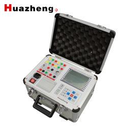 Hzc-3980 Swichgear eléctrico portátil CB Disyuntor Analizador de equipo de prueba