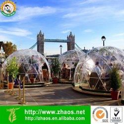 보장된 정원 공간 플라스틱 이글루 측지적인 정원 돔 이글루 2 년