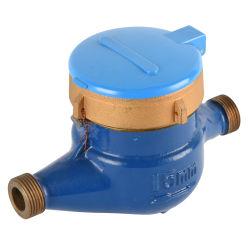 Commerce de gros une lecture claire 15mm-50mm Liquid-Sealed Multi Jet Compteur d'eau froide