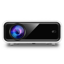 Mini projector LCD digital suporte de luz laser convenientes Projector LED HD