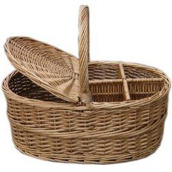 Rieten Willow Picnic Food Storage fruit Basket