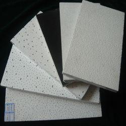 2'*2' acoustique décoratif de la laine minérale False les dalles de plafond (Sandy, Fine fissurées etc)
