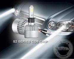 H7 H11 H8 Hb4 H1 H3 9005 자동 S2 차 헤드라이트 전구 72W 8000lm 차 부속품 6500K LED 안개등 H4 LED