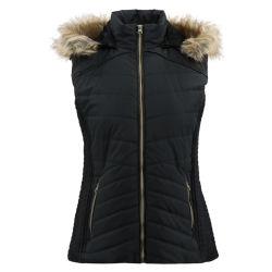 Дамы стеганая пользовательские майка с мягкими вставками женщина жилет мода мех худи Майка куртка